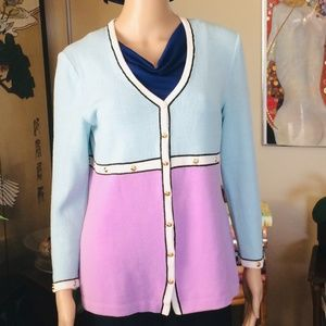 St. John Sweater by Marie Gray, Size 6